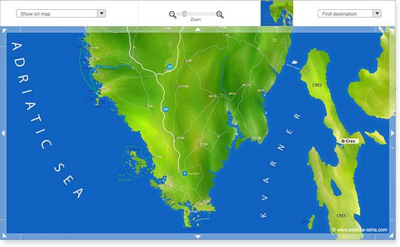 Karte Istrien Kroatien.Istrien Kroatien Urlaub Unterkunft Touren
